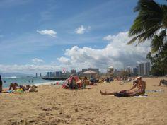 Kaimana beach on the east end of Waikiki is a local favorite.