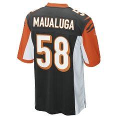Rey Maualuga Game Jersey