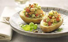 """Patatas Rellenas De Pollo Al Pesto"" en Nestlé Cocina #recetas #nestlecocina #menuplanner #cocina"