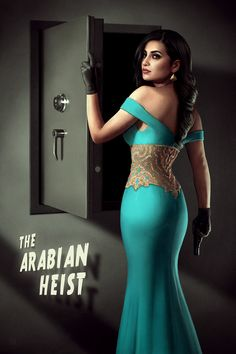 "Jasmine in ""The Arab Robbery"""