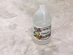 Cleaning drains: Pour 1/2 cup baking soda in the drain, followed by 1/2 cup vinegar; the mixture will foam as it cleans and deodorizes. Use every few weeks to keep drains clean.  Cleaning vinyl floors: Add 1/4 cup vinegar to 1 gallon hot water for spotless floors.  Neutralize pet odors: Mix 1 part white vinegar to 3 parts water. Pour on stained areas and blot; never rub to remove stains and odors.  Greasy dishes: Mix 2 tablespoons white vinegar to liquid dish soap to boost its cleaning…