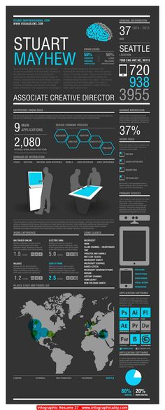 Infographic Resume 37 - http://infographicality.com/infographic-resume-37/