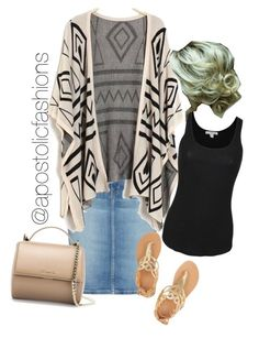 """Apostolic Fashions #885"" by apostolicfashions on Polyvore featuring Current/Elliott, Ancient Greek Sandals, Givenchy and James Perse"