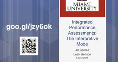 University Of Miami, Ipa, Assessment, Conference, Presentation, Business Valuation