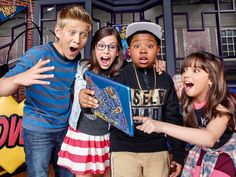 Nickelodeon Latinoamérica estrena Game Shakers #series #televisión