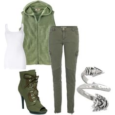 Everything but the shoes. Green Arrow inspired outfit