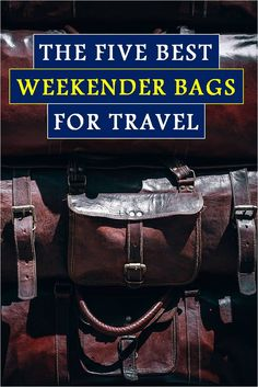 The good news is you want to graduate from backpacks and gym bags to a proper weekender bag for men. The BAD news is you have no clue where to start. Leaning on my frequent traveling expertise, I've nominated 5 candidates for the best weekender bag for men. Keep reading for more! #weekenderbag #travelweekenderbag #weekenderbagmens #weekenderbagtravel best weekender bag for men, leather weekender bag for men, canvas weekender bag for men, weekender bag for men, travel weekender bag, men fashion