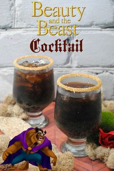 """Beauty and the Beast"" is the fantastic journey of Belle, a young woman who is taken prisoner by a beast in his castle, hence The Beast Cocktail recipe."