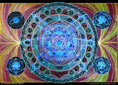 Atomic Mandala by TravisAitch.deviantart.com on @DeviantArt