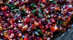 Tomato and pomegranate salad recipe : SBS Food