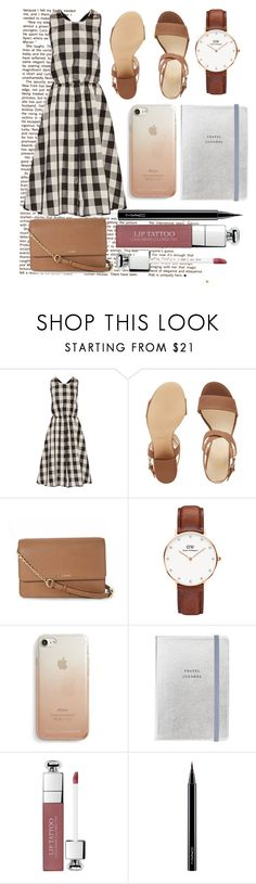 """Spring Look"" by beerrks ❤ liked on Polyvore featuring Rochas, Nine West, MICHAEL Michael Kors, Daniel Wellington, Rebecca Minkoff, Christian Dior and MAC Cosmetics"