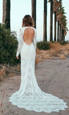 """2017 Daughters Of Simone Collection - """"Abbott"""" Wedding Gown  // Click to Shop"""