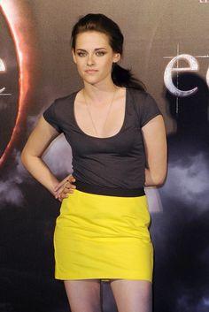 Kristen Stewart Mini Skirt - Mini Skirt Lookbook - StyleBistro