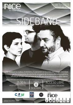 31Canciones presenta a Sideband en Sala Nice (Ciudad Real)