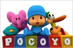 Painel Para Festa Pocoyo Banner 100x150 Cm - R$ 49,90