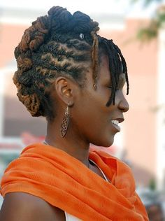loc styles for black women | loc hairstyles | Black Natural Hairstylesfor African American Women