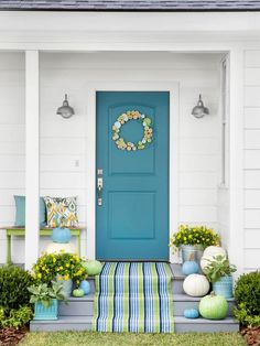 Refresh your porch for fall with unexpected design ideas from HGTV.