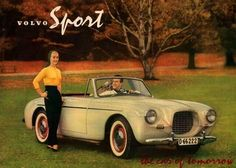 Volvo p1900. Only sixty-eight units were built between 1956 and 1957 by Volvo Cars.