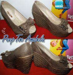 Peep Toe Anabela