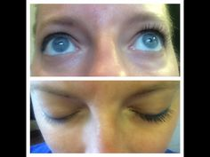 Look how amazing Younique 3D Fiber Lash Mascara makes my lashes look long and thicker! I have lashes again!! I said Bye-Bye to falsies....You should too #mascara #makeup #love #pretty #happy