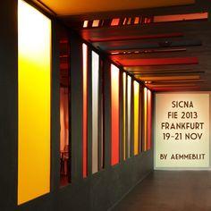 Aemmebi per SICNA Nuovo progetto per Fie a Francoforte  now on stage, presto nei nostri portfoli  stay tuned!