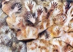 The Cueva de las Manos, Río Pinturas, Argentina, contains an exceptional assemblage of cave art, executed between 13,000 and 9,500 years ago. It takes its name (Cave of the Hands) from the stencilled outlines of human hands in the cave, but there are also many depictions of animals.