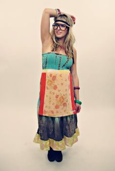 Not my style but like the idea of an integrated apron. Like Matilda Jane for adults, lol