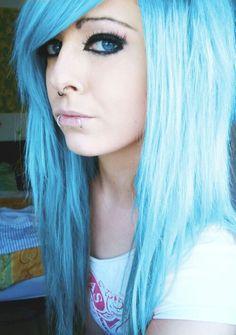 hair on pinterest splat hair colors blue hair and