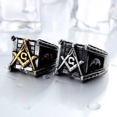 Last few remaining! Visit the link in bio! Men's Jewelry Rings, Cross Jewelry, Silver Jewelry, Sterling Silver Mens Rings, Handmade Sterling Silver, Mens Stainless Steel Rings, Mens Ring Sizes, Titanium Wedding Rings, Square Rings