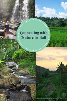 Bucket list item checked off: spending time connecting with nature in BALI! Waterfalls, rice fields, local life and sunsets - all without the crowds.