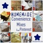 10+ Homemade Convenience Mixes