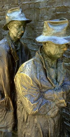 Bread Line - FDR Memorial - Washington D.C. - Photo #washington-dc
