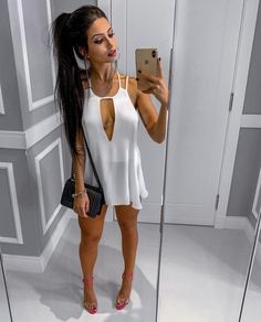 Women S Fashion Dropshippers Usa Referral: 3004955418 Sexy Outfits, Sexy Dresses, Nice Dresses, Summer Outfits, Fashion Dresses, Cute Outfits, Look Fashion, Girl Fashion, Womens Fashion