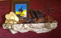 Decor, shown on Television Ledge. The possibilities are endless & limited only to Your vision of Your Revolution.