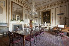 The Dining Room at Hatchlands. ©National Trust Images/Chris Lacey