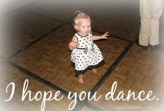 Barefoot Hippie Girl: Day 31: I Hope You Dance