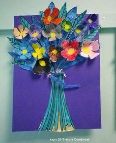 Fleurs en bouquets - Les cahiers de Joséphine