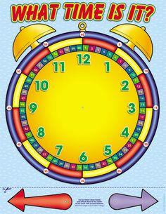 Alarm Clock Friendly Chart