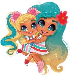Cute Drawlings, Cute Art, Cute Kids, Baby Girl Toys, Toys For Girls, Lol Dolls, Cute Dolls, Twin Girls Outfits, Cute Panda Wallpaper