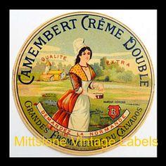 Camembert label