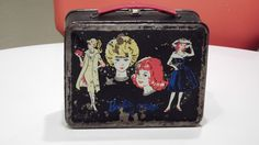 Vintage Metal Barbie and Midge Lunchbox with Thermos. $22.00, via Etsy.