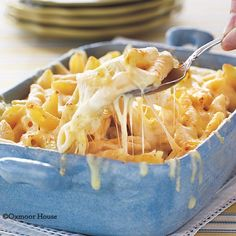 three cheese pasta bake...