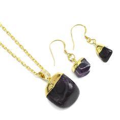 #Natural #Gemstone #Jewelry #Sets, #Earrings & #Necklace http://www.beads.us/product/Natural-Gemstone-Jewelry-Sets_p330652.html?Utm_rid=219754