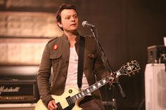 "James Dean Bradfield, taken from the ""Your Love Alone Is Not Enough"" video."