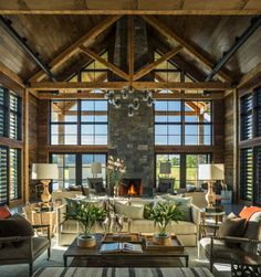 Traditional farmhouse style dwelling in Vermont with a modern twist