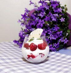 Schokokuss-Himbeer Nachtisch ~ Chocolate marshmallow raspberry dessert