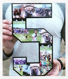 Senior Night Gift, Soccer Player Collage, Gifts for Athletes. Great booster club idea, senior keepsake, or gift for son or daughter or girlfriend or boyfriend. Source by collageandwood Volleyball Senior Gifts, Senior Night Gifts, Soccer Gifts, Sports Gifts, Coach Gifts, Team Gifts, Soccer Boyfriend, Soccer Banquet, Soccer Theme