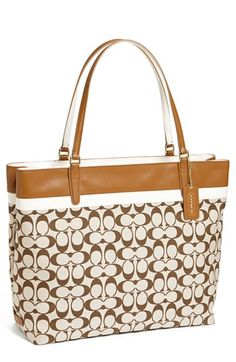COACH 'Signature' Tote, Extra Large available at #Nordstrom