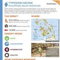 Typhoon Haiyan Relief Response (Infographic)