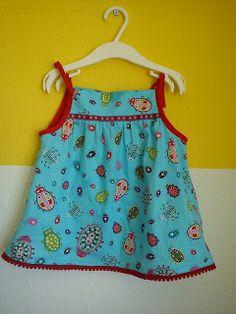 Kleid aus der Zwergenverpackung von Farbenmix